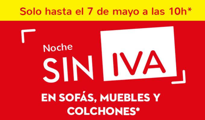 Conforama Noche Sin IVA