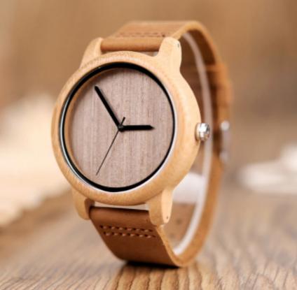 Reloj madera unisex