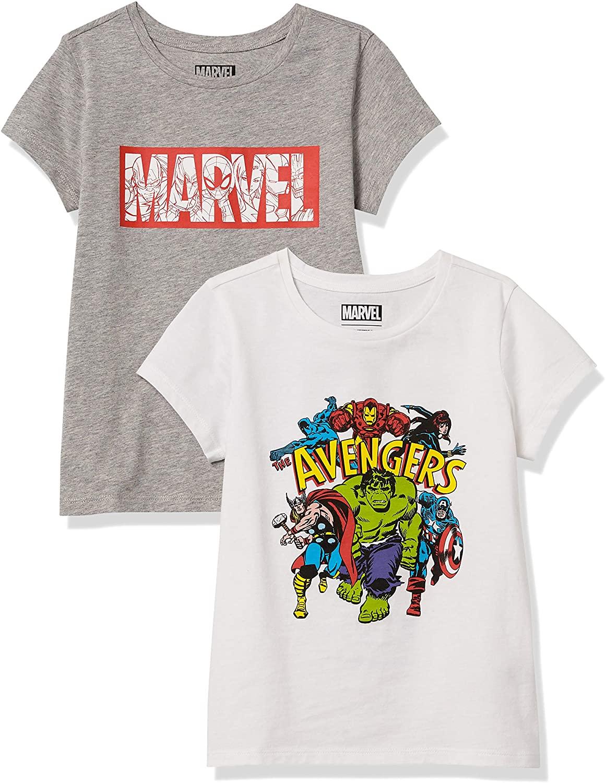 2 camisetas Marvel