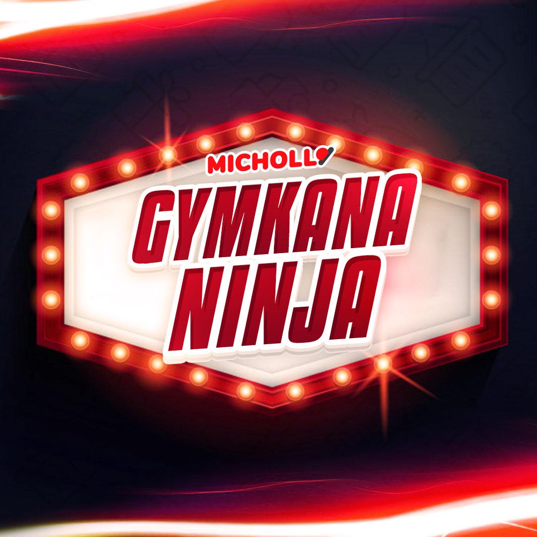 Gymkana Ninja: el #1 gana un portátil