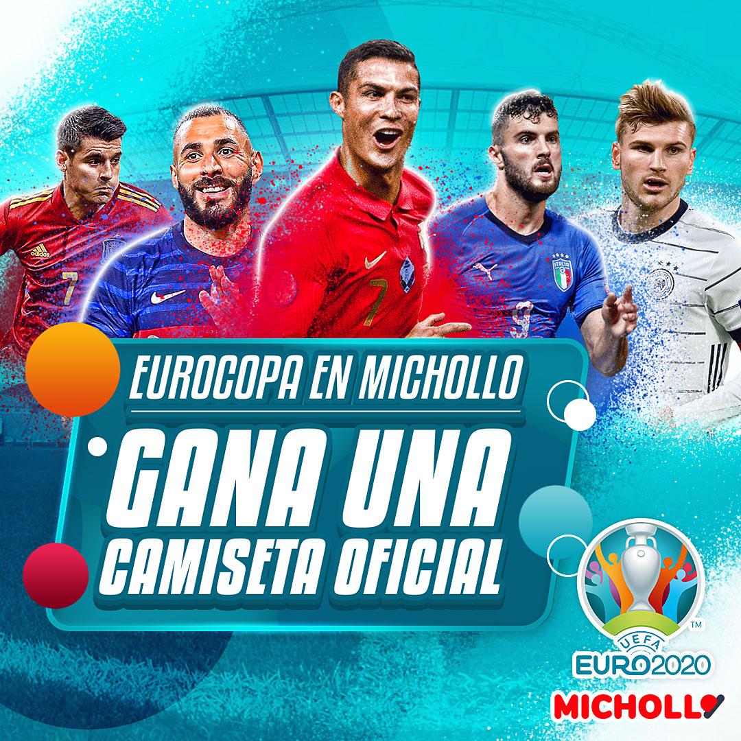 Eurocopa en Michollo: ¡Gana una camiseta oficial!