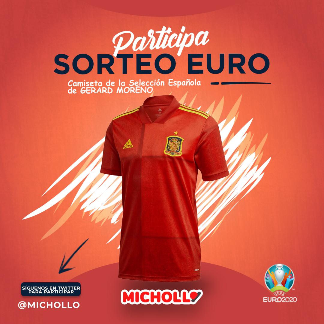 Gana una camiseta de la selección española