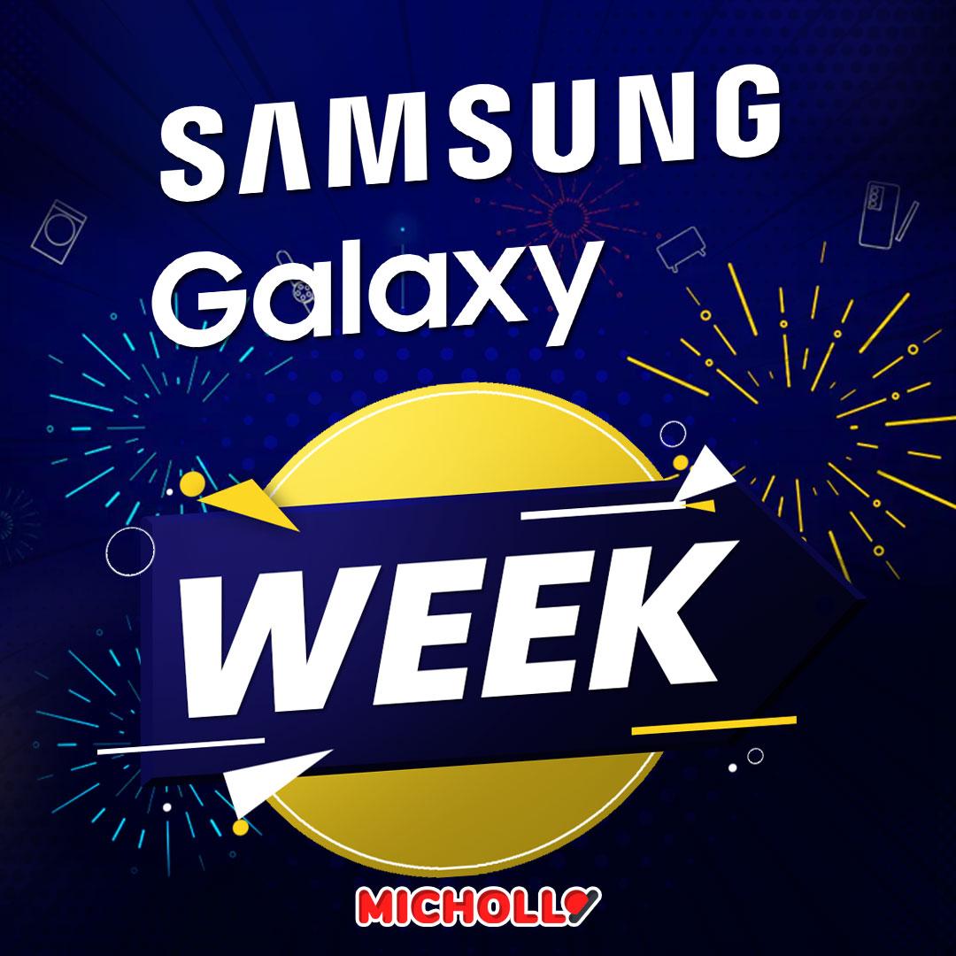 Mejores ofertas Samsung Galaxy Week