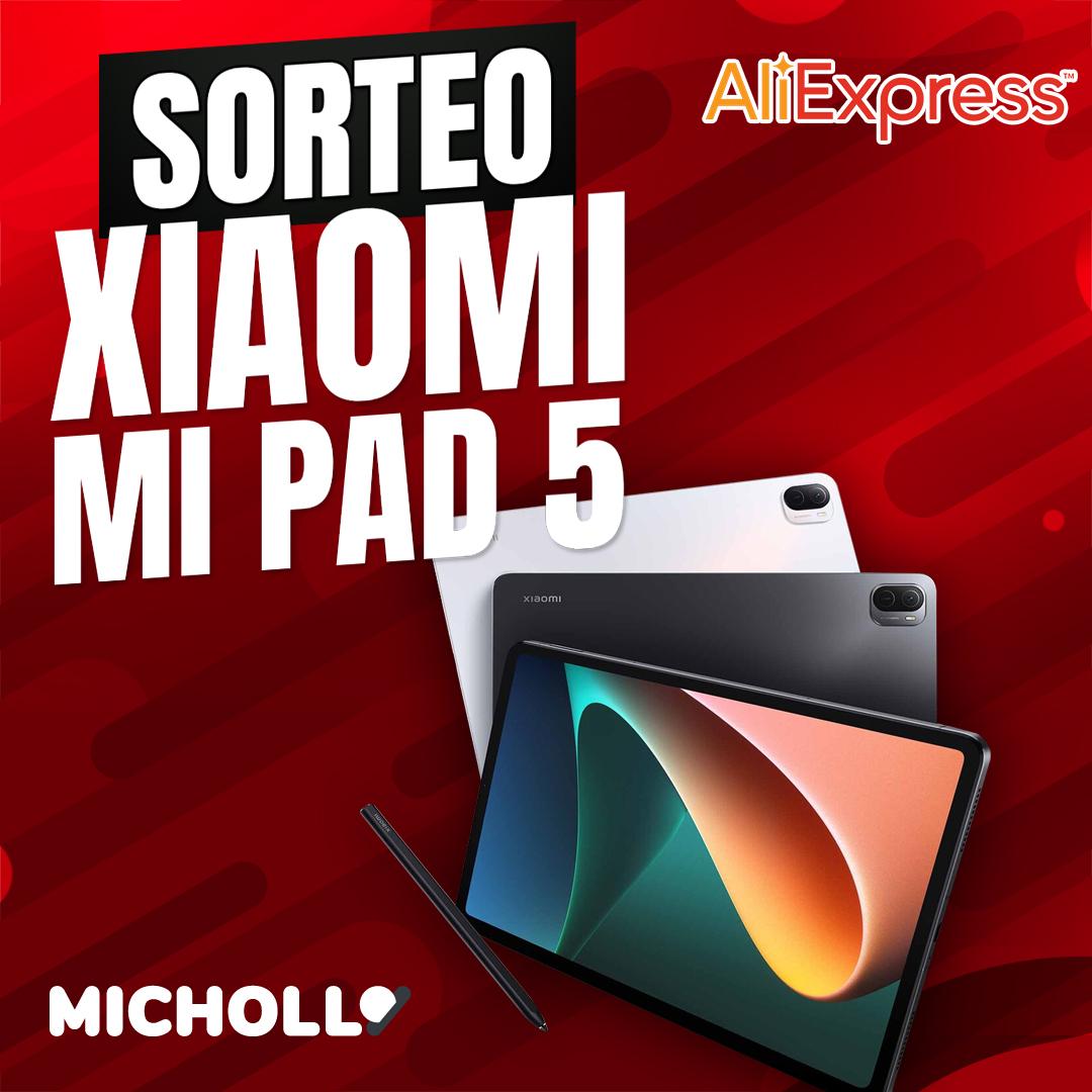 ¡Sorteo! Gana una tablet Xiaomi Pad 5