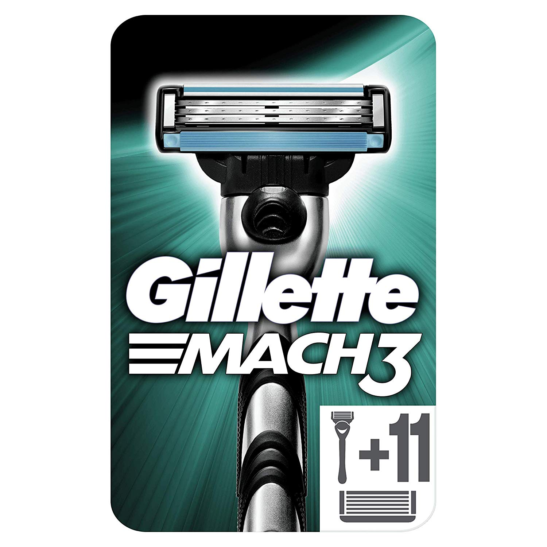 Gillette Mach3 + 11 cuchillas
