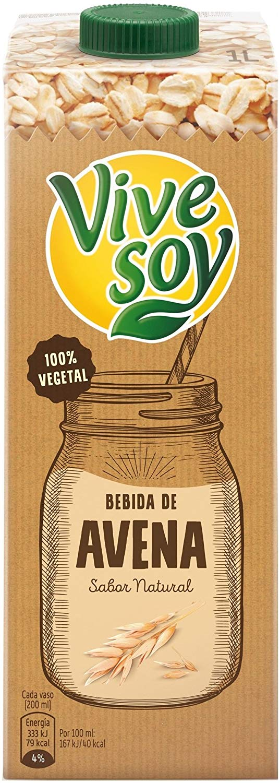 Pack 6 Bebidas de avena Vivesoy