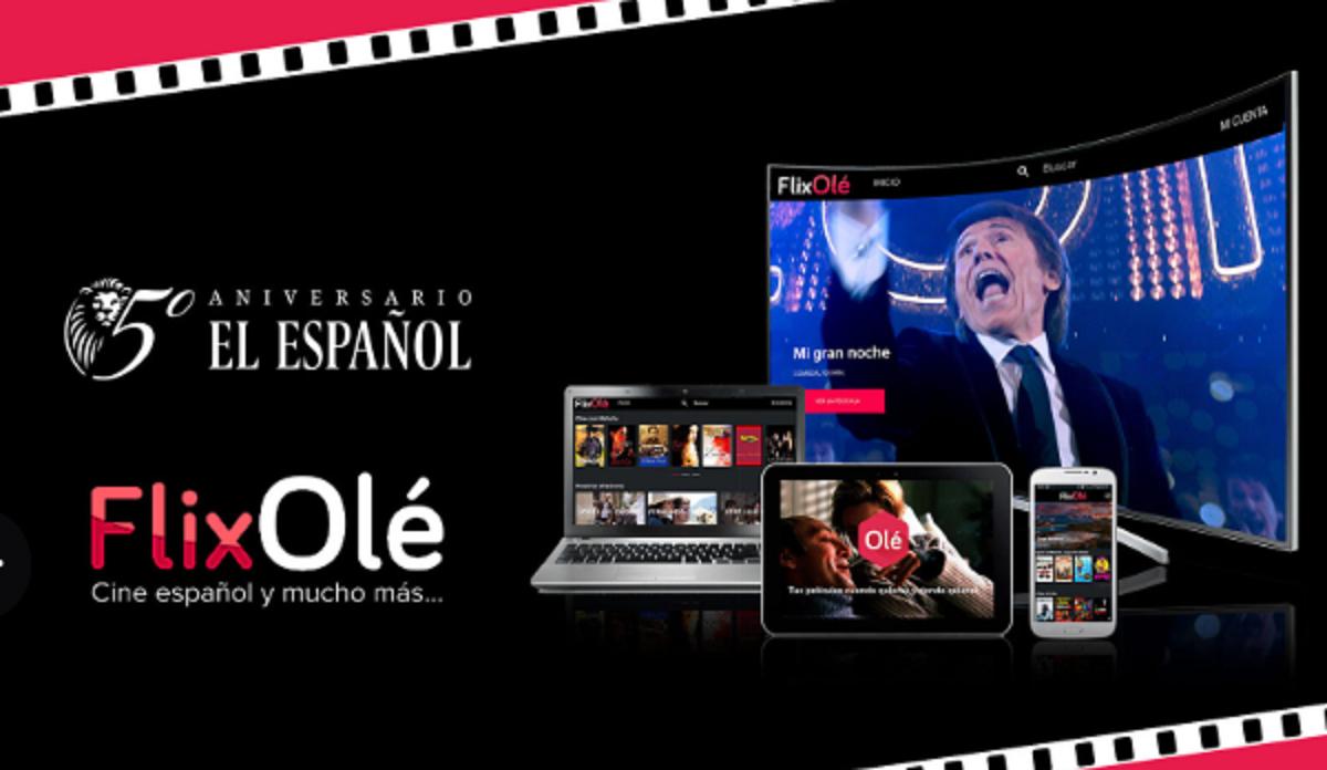 1 año de FlixOlé GRATIS con tu suscripción anual a El Español