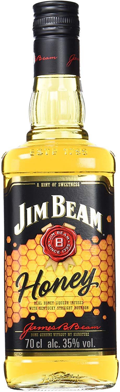 Whisky Bourbon con miel Jim Beam Honey