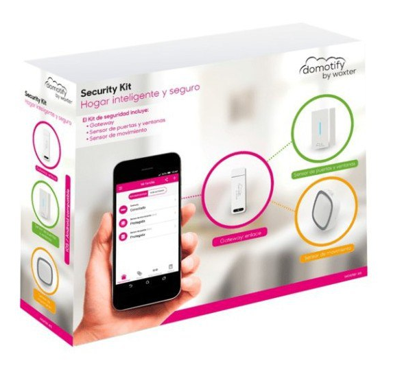 Kit de seguridad Woxter Domotify Security