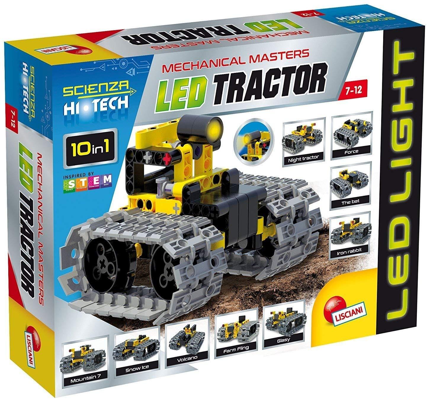 Scienza Hi Tech Vehículo Tractor con LED