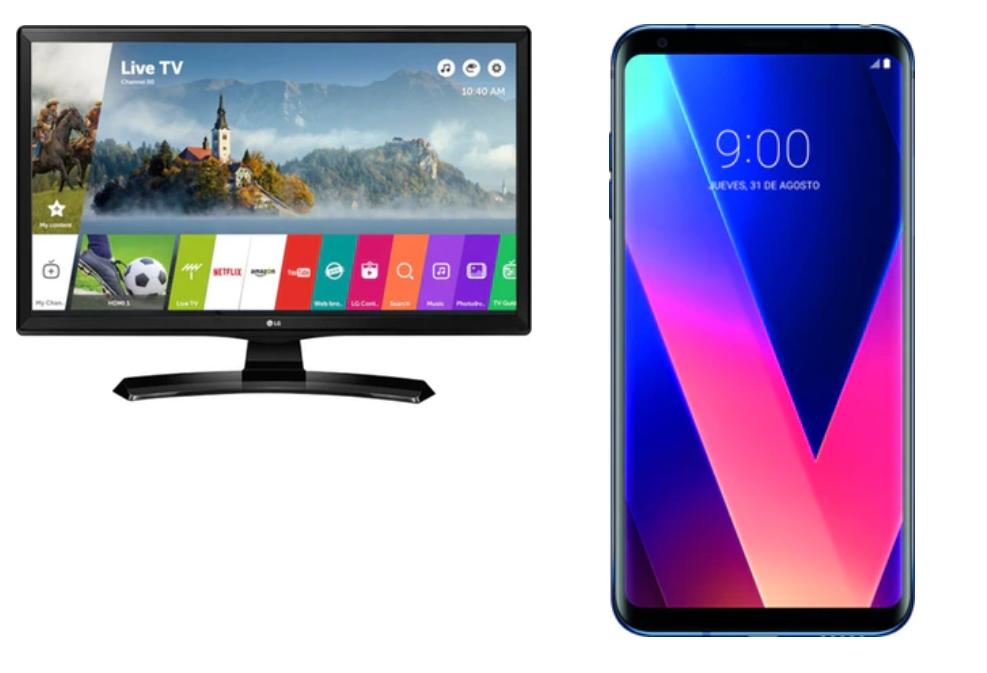"""¡Combo! LG V30 + TV LG 28MT49s de 28"""""""