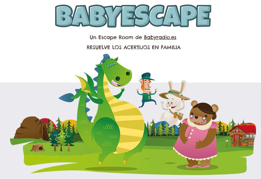 Escape Room online para toda la familia BabyEscape