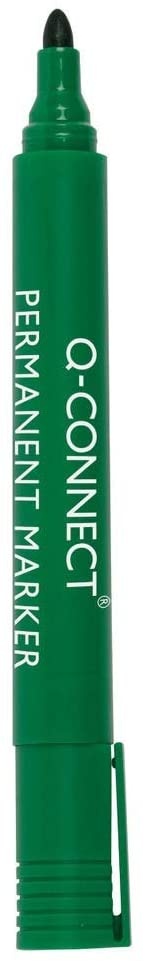 10 rotuladores verdes Q-Connect