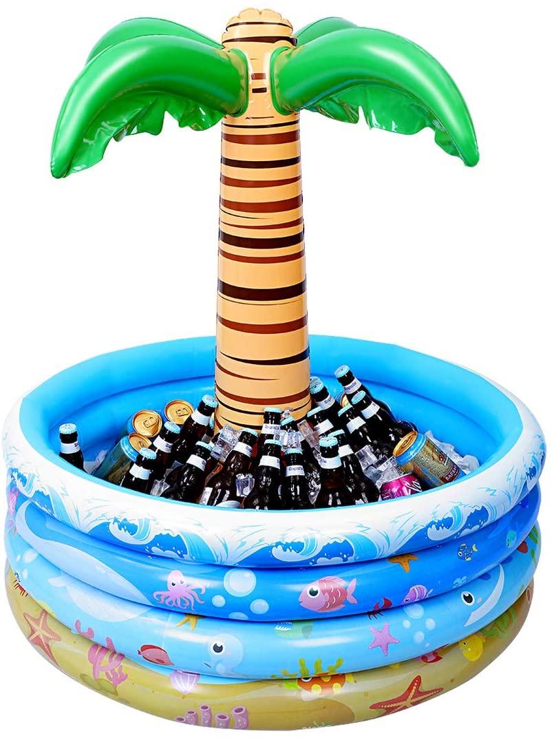 Flotador hinchable para bebidas