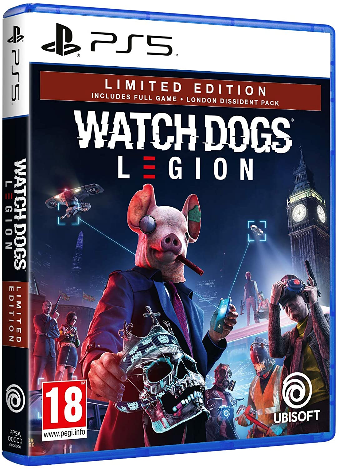 Watch Dogs Legion Limited Edition PS5