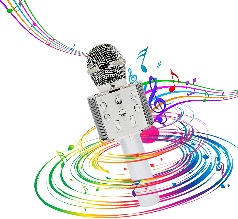 Micrófono Bluetooth de karaoke