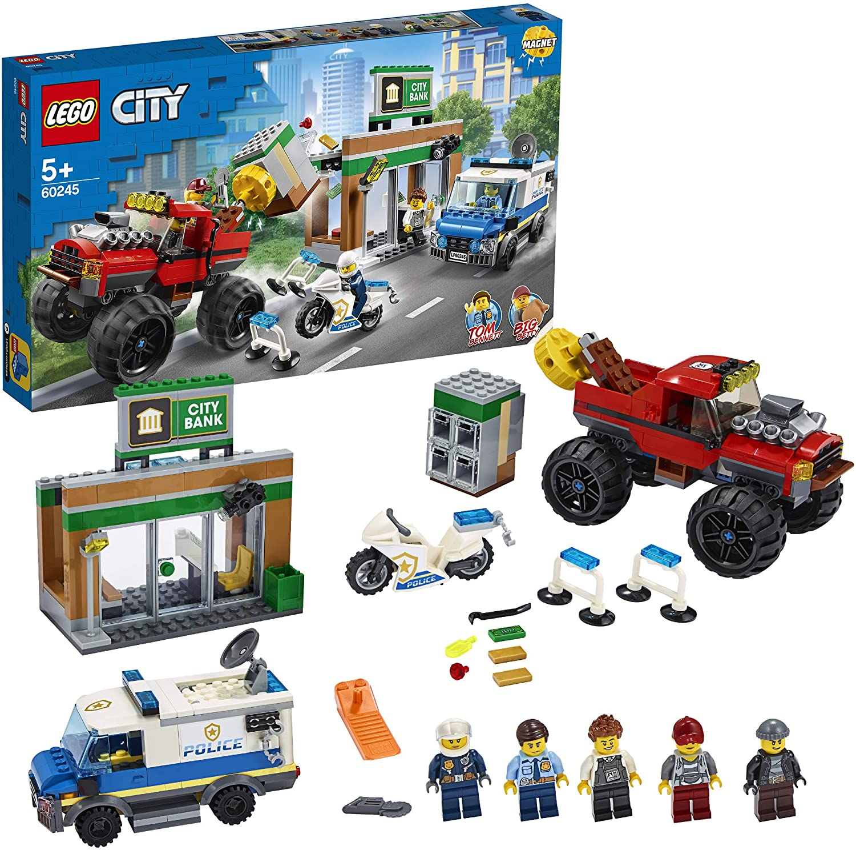 LEGO Policía: Atraco del Monster Truck