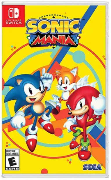 Sonic Mania Code in Box