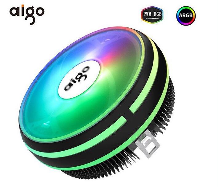 Mini Ventilador CPU RGB 120mm