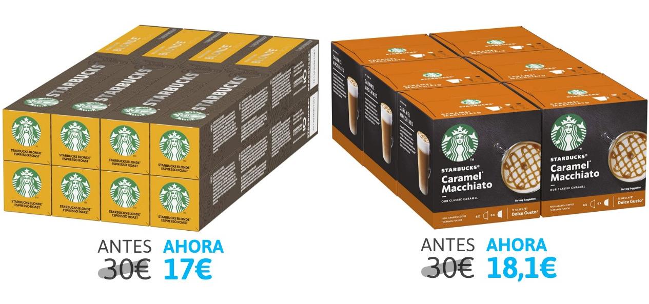 Cápsulas De Café Starbucks Blonde Espresso Roast 8x10 Unidades