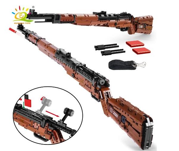 Rifle de construcción Kar98 1025 piezas