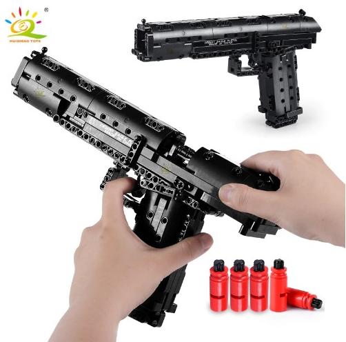 Pistola de construcción Desert Eagle 563 piezas