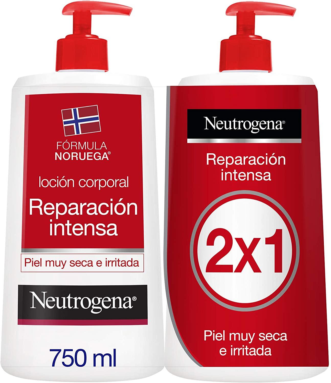 Pack 2 Crema Hidratante Reparación Intensa Neurógena (2x750ml)