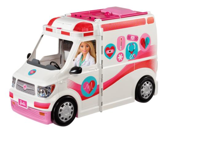 Barbie Ambulancia Hospital 2 en 1