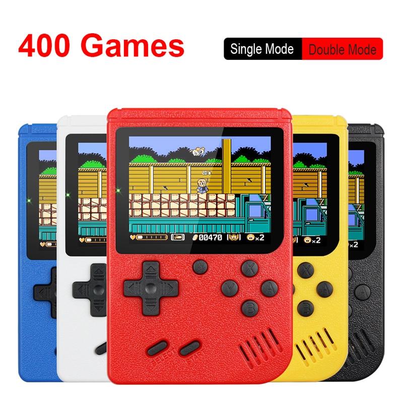 Miniconsola portátil Retro 400 juegos