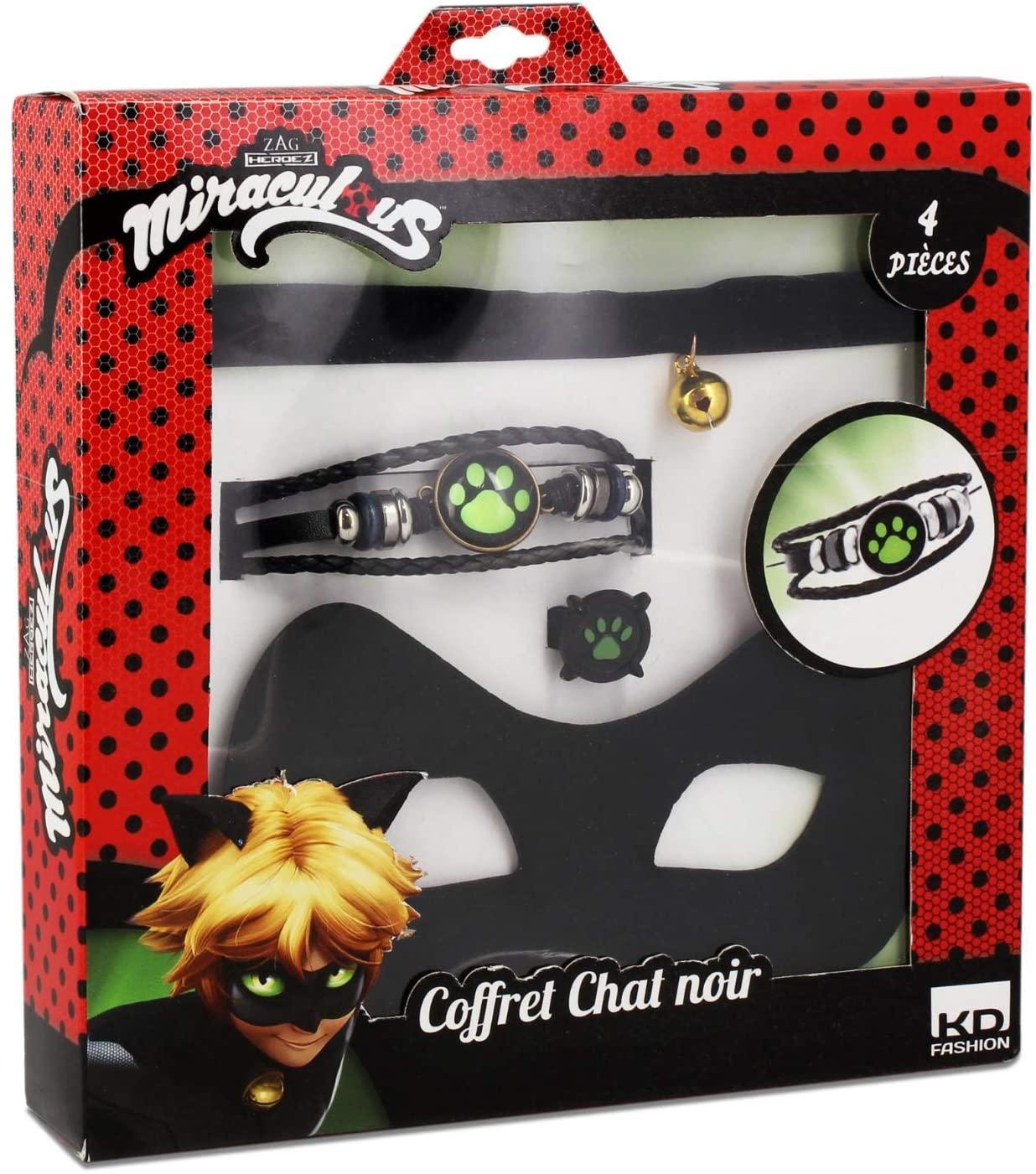 Juego de Gafas y Joyas de Chat  Noir LadyBug