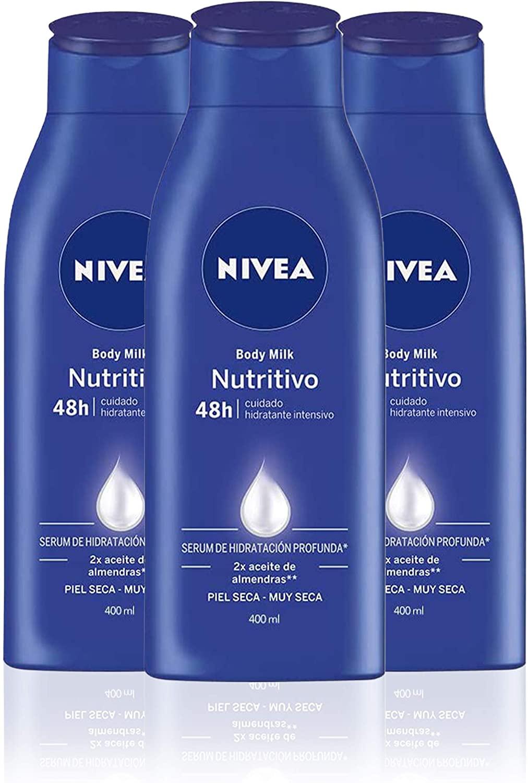 Pack 3 NIVEA Body Milk