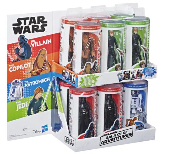 Figura Galaxy of Adventures Star Wars