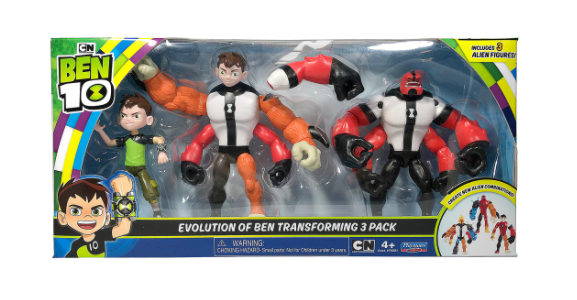 Evolution Pack Ben 10