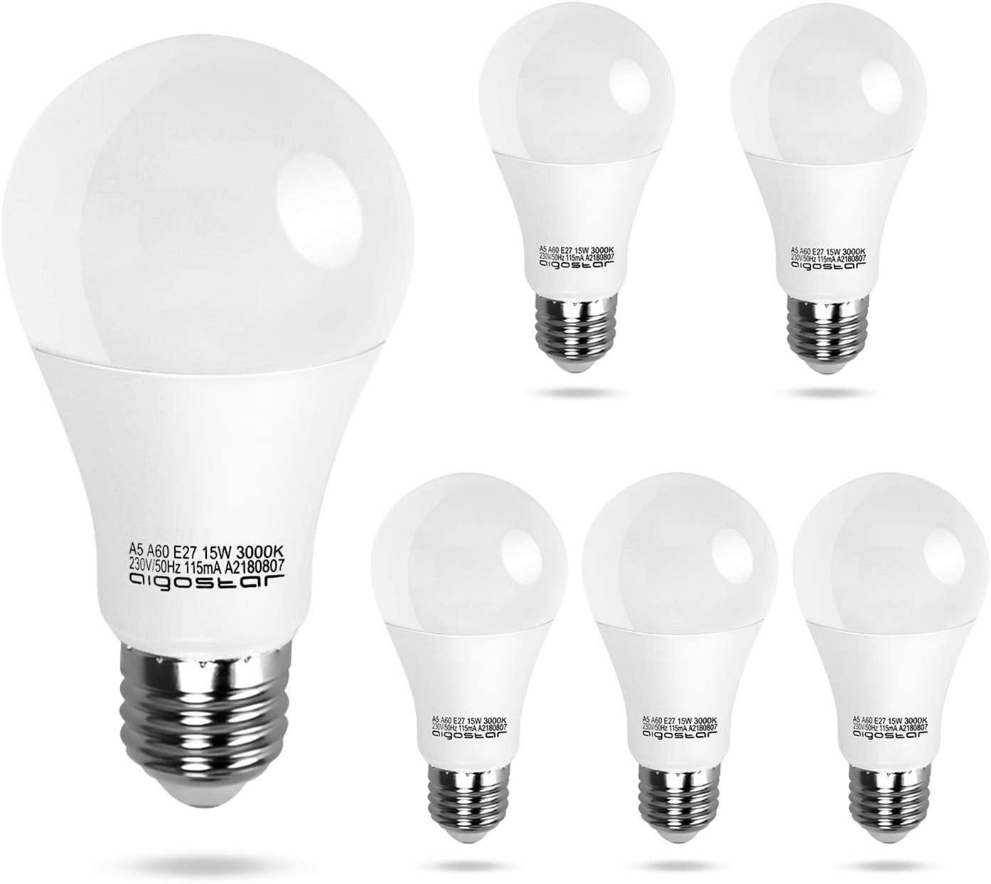 Bombillas LED E27 5 unidades Aigostar