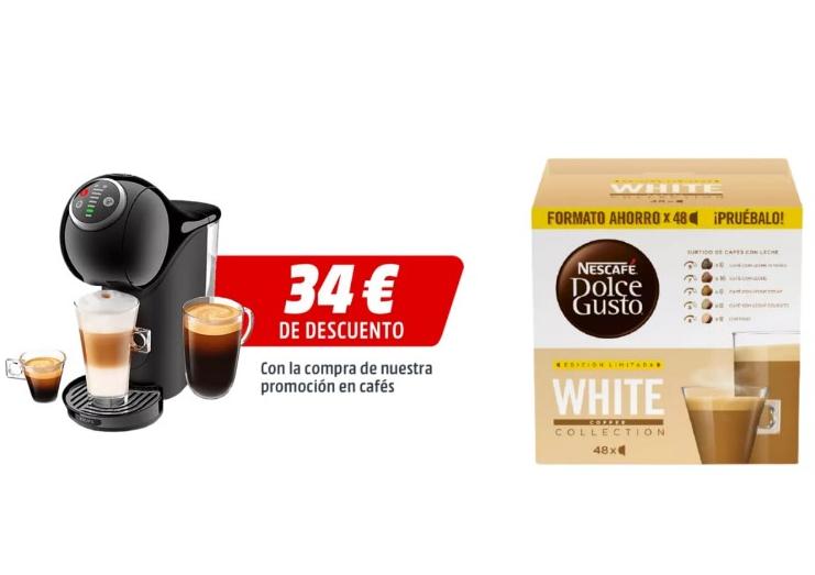 Cafetera de cápsulas Nescafé Dolce Gusto Krups Genio S Plus