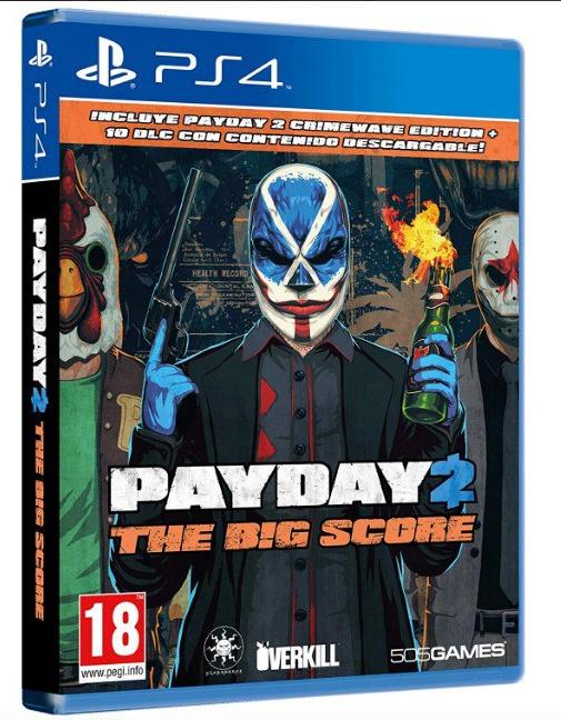 PayDay 2: Crimewave: The Big Score Edition para PS4