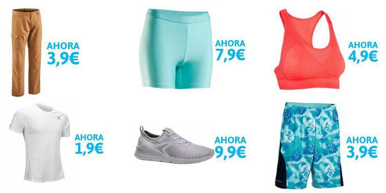 Hasta 60% de dto. en ropa deportiva Decathlon