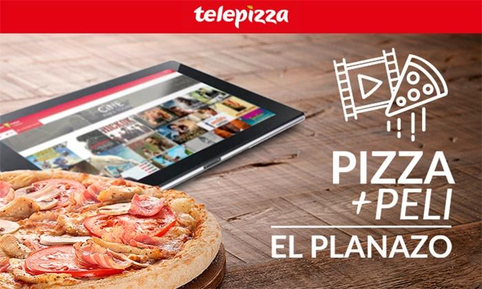 2 Pizza Telepizza + 2 Películas