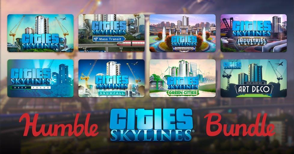 Humble Bundle Cities Skylines