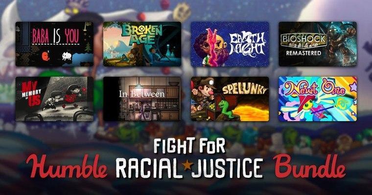 Humble Bundle lucha contra la justicia racial