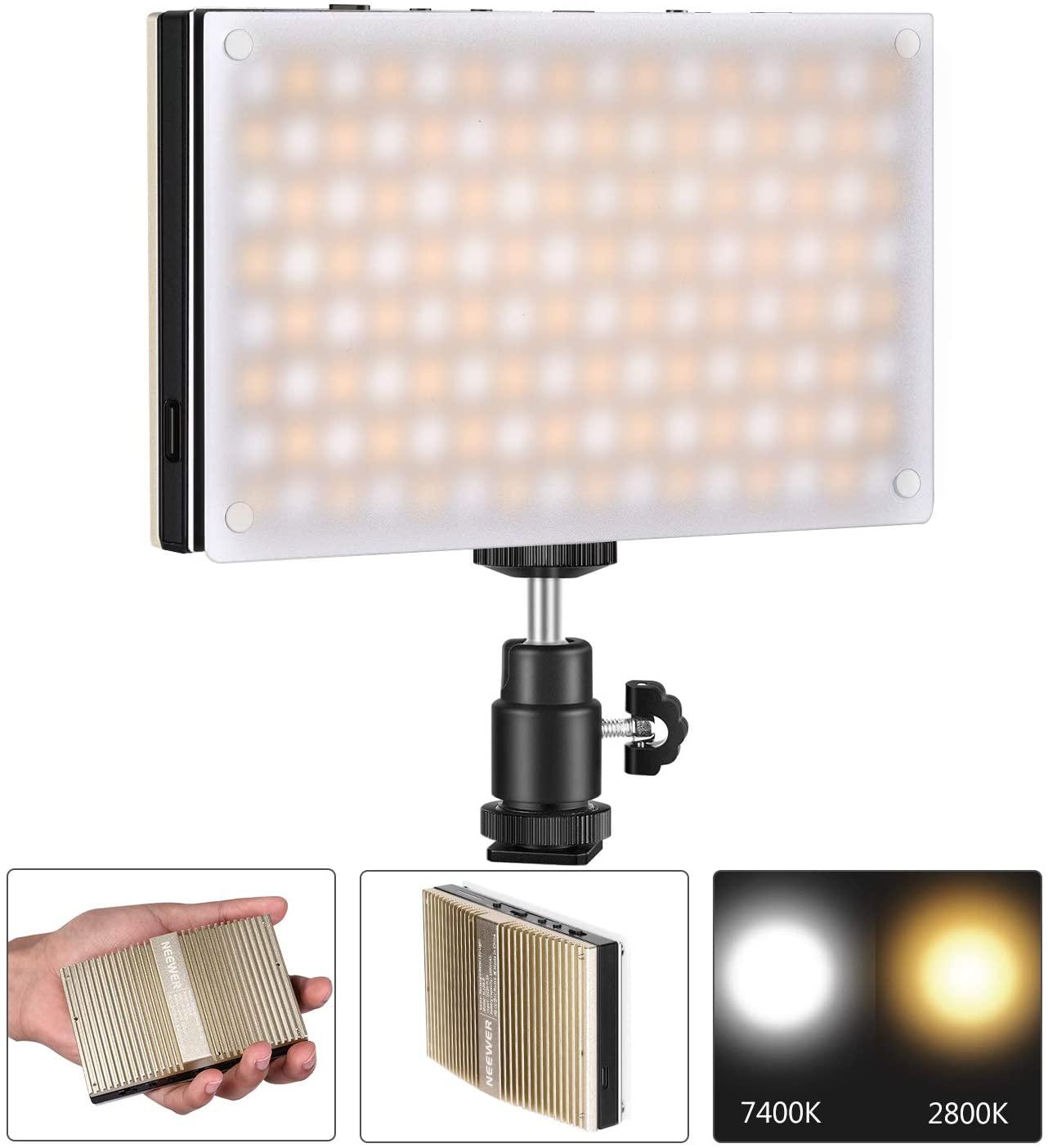 Luz de Video LED de Bolsillo 128 LED SMD