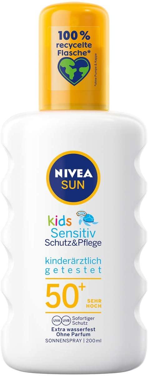 Nivea Sun W2 Factor 50+ para niños 200ml