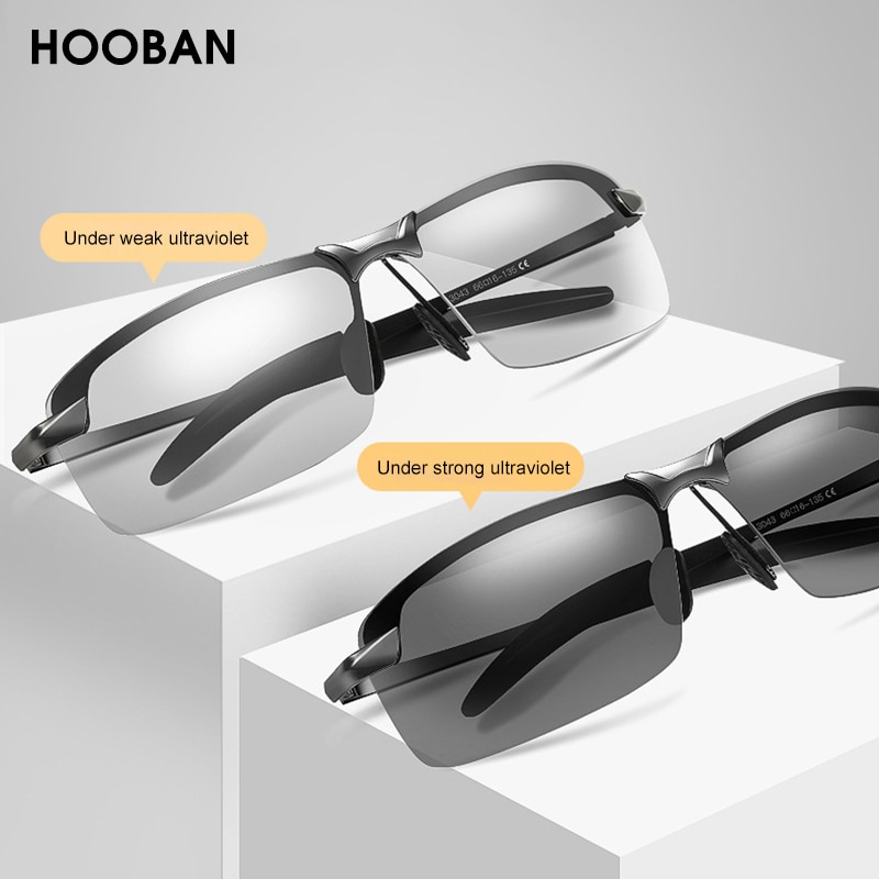 Gafas de sol fotocromáticas y polarizadas