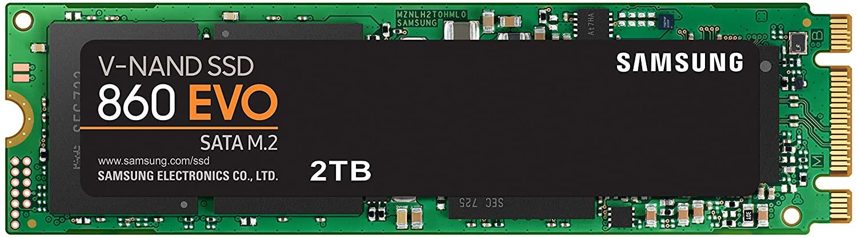Samsung 860 EVO SSD 2TB M.2