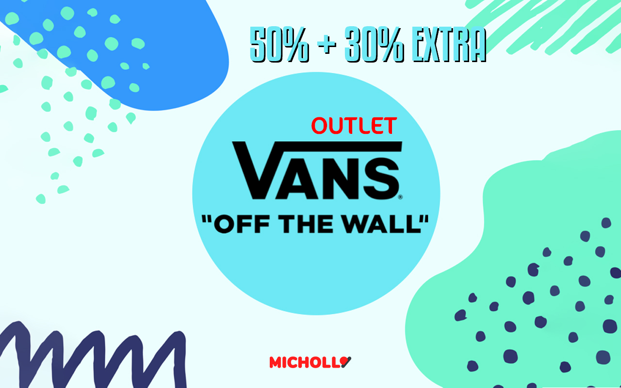Hasta 50% de dto. + 30% EXTRA Outlet Vans
