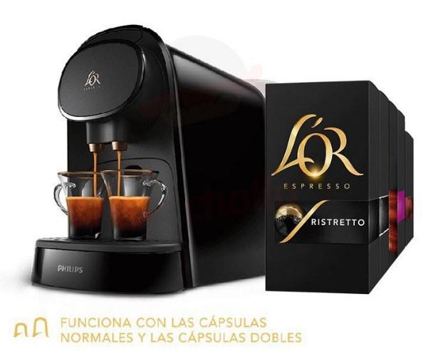 Cafetera L'OR Barista + 320 Cápsulas