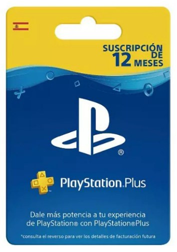Tarjeta PlayStation Plus Card de 12 Meses