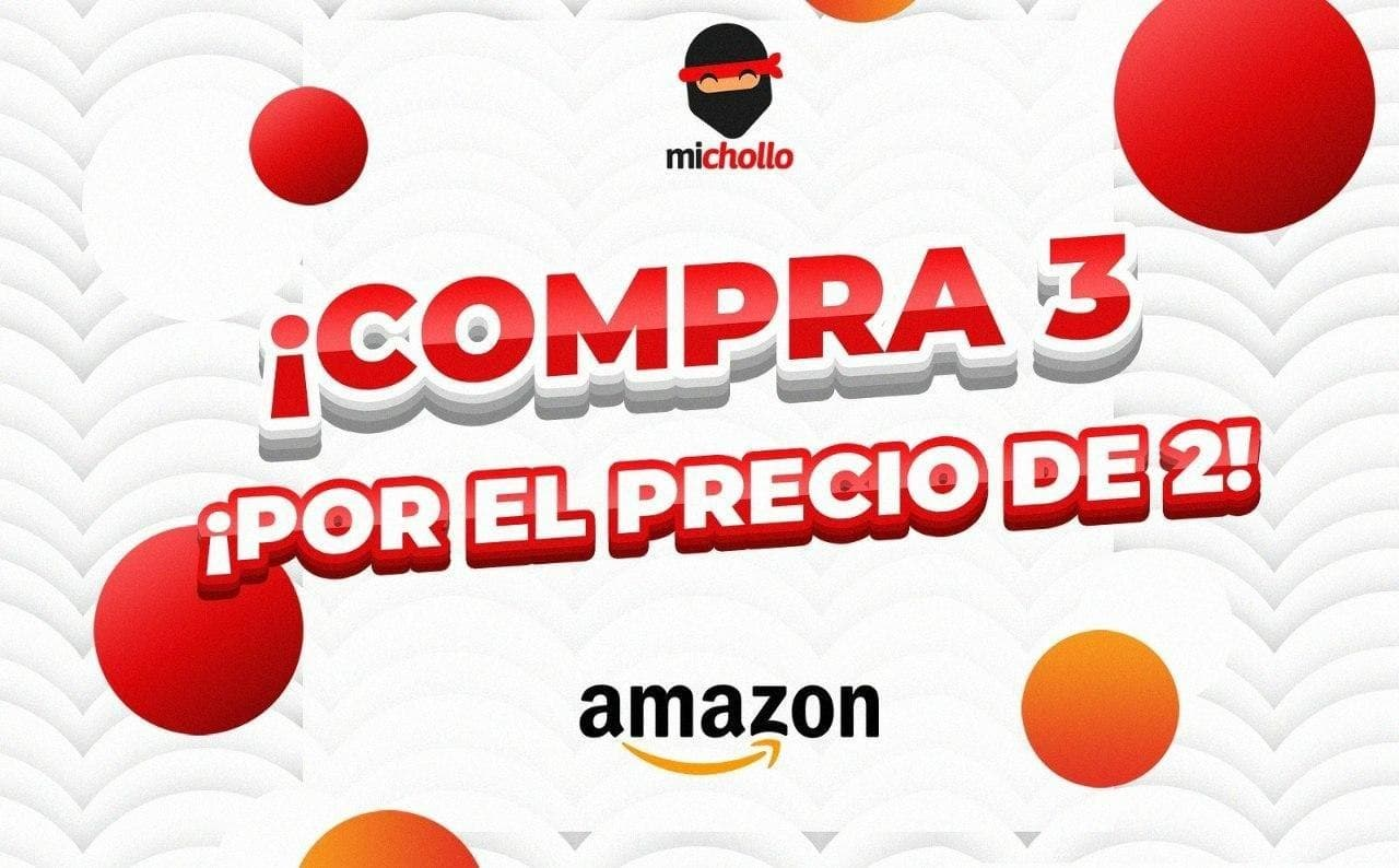 3x2 en productos de supermercado en Amazon