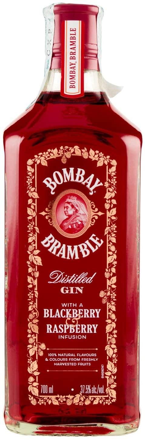2x Ginebra Bombay Bramble Rosa de 700ml
