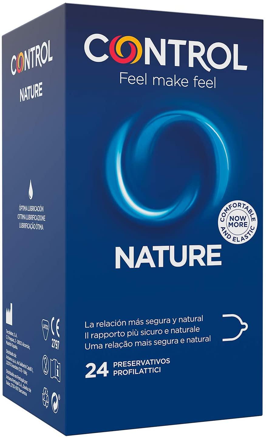24 Preservativos Control Nature